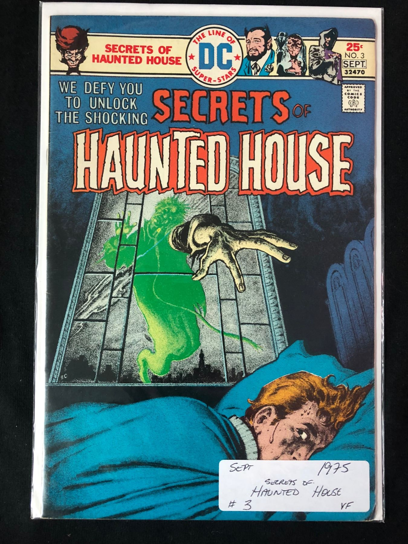 SECRETS OF HAUNTED HOUSE #3 (DC COMICS)