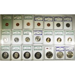GRADED COIN LOT;