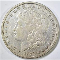 1878 8TF MORGAN DOLLAR  XF