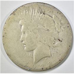 1928 PEACE DOLLAR   AG