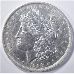 1889-O MORGAN DOLLAR   AU/BU