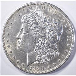 1890-S MORGAN DOLLAR  CH BU