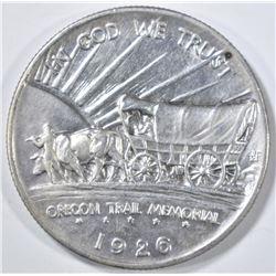 1926-S OREGON TRAIL COMMEM HALF DOLLAR BU