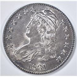 1831 BUST HALF DOLLAR  AU/BU
