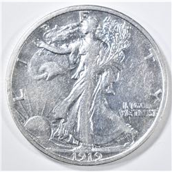 1919-S WALKING LIBERTY HALF DOLLAR  XF