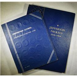 2-1938-1963 CIRC JEFFERSON NICKEL  SETS