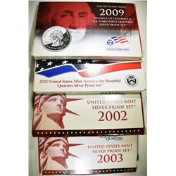 MISC. U.S. SILVER PROOF SETS
