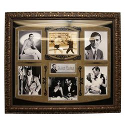 Clark Gable Autographed Collage