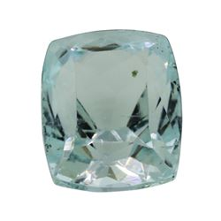 6.35 ct. Natural Cushion Cut Aquamarine