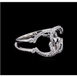 0.24 ctw Diamond Ring - 14KT White Gold