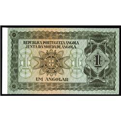 Republica Portugueza Angola - Junta Da Moeda De Angola, ca. 1915-25 Essay Specimen Banknote.