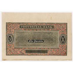 "William Congreve's ""Compound Plate"" ca.1822 Specimen Engraving Method Advertising Note."