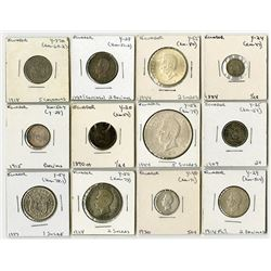 Nice Grouping of Ecuadorian Coins, Including several Silver Pieces, 1884 to 1944