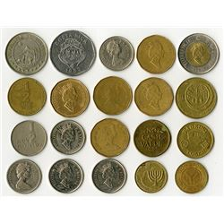 World Coin Assortment