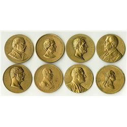 Another Nice Grouping of Mostly Presidential Restrike Medals