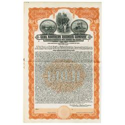 Cuba Northern Railways Co., 1927 Specimen Bond