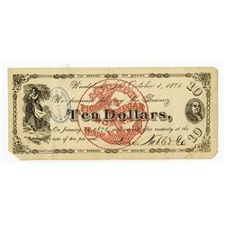 Heinz, Noble & Company - Anchor Pickle & Vinegar Works Obsolete Banknote, 1 of 3 Found.