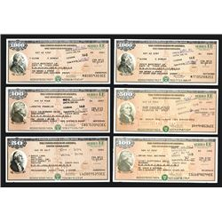 U.S. Savings Bond, Series EE, ca. 1995-2007 Bond Assortment.