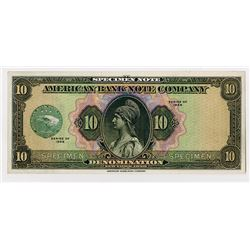 American Bank Note Co., Series of 1929 ABN Specimen Note