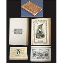 American Bank Note Company Spanish Advertising Presentation Vignette Book ca.1860Õs