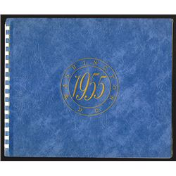 Washington, D.C., 1955 Convention IPPDS & EU of NA folder of intaglio prints.
