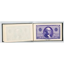 Columbian Bank Note Company Specimen Booklet of Border Colors, ca.1920-30's.