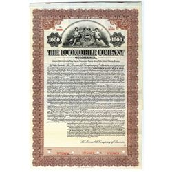 Locomobile Company of America, Inc. 1912 6% Gold Coupon Bond.