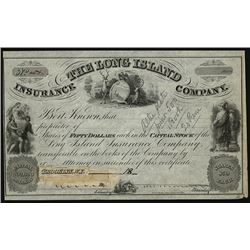 Long Island Insurance Co. ca.1840-50s Used as a Specimen Model By RWHE.