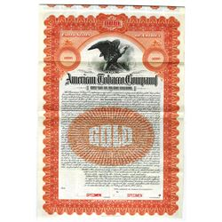 American Tobacco Co., 1904 Specimen Gold Bond
