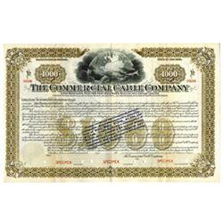 Commercial Cable Co., ca.1900-1910 Specimen Bond