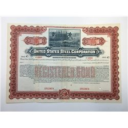 United States Steel Corp., 1901 Specimen Bond