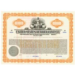 United States Rubber Co., 1938 Specimen Bond