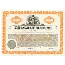 United States Rubber Co., 1938 Specimen Bond