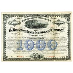 Rockaway Beach Improvement Co., 1880 Specimen Bond