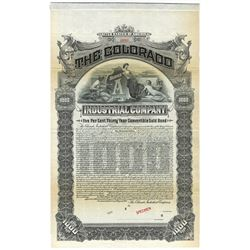 Colorado Industrial Co., 1904 Specimen Bond.