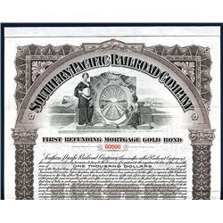 Southern Pacific Railroad Co., 1905 Specimen Bond.