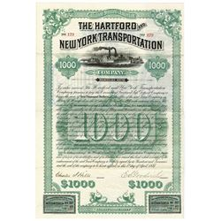 Hartford and New York Transportation Co., 1887 Issued Bond