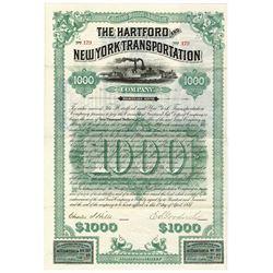 Hartford and New York Transportation Co., 1887 Issued Bond