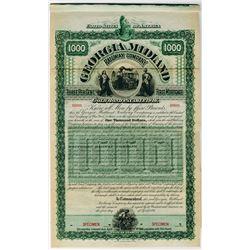 Georgia Midland Railway Co., 1896 Specimen Bond