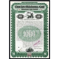 Choctaw, Oklahoma and Gulf Railroad, 1902 Issued Bond