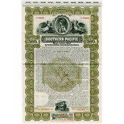 Southern Pacific Co., 1899 Specimen Bond