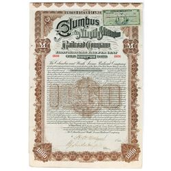 Columbus and Ninth Avenue Railroad Co., 1893 Issued Bond