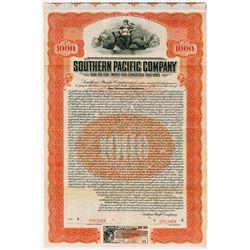 Southern Pacific Co. 1909. Specimen Bond.