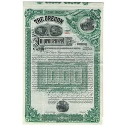 Oregon Improvement Co., 1889 Remainder Bond