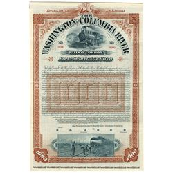 Washington and Columbia River Railway Co., 1895 Specimen Bond