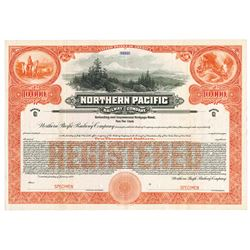 Northern Pacific Railway Co., 1922 Specimen Bond