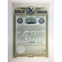 State of Tennessee, 1892 Specimen Bond