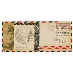 Jimmy Doolittle 1931 Autographed Air Mail First flight Cover.