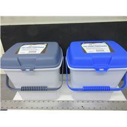 2 New Pet Food Containers / keeps fresh longer / seals out pests & humidity