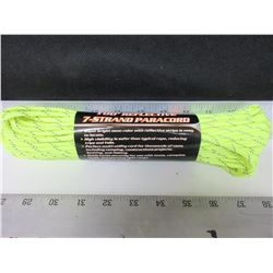 New 100ft  7 strand 550lb Paracord / perfect for tents,canopies,tarps and more